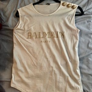 Balmain Printed Tee